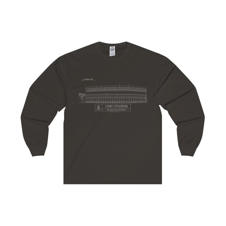 Ohio Stadium Long Sleeve Tee