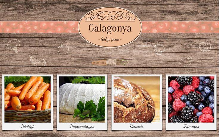 Moró Evelin Enikő munkája - Galagonya Helyi piac gyakorlat 1. kör - mooboard ------------------------------------- Tervezz Te is ilyeneket! http://www.webdesigntanfolyam.com