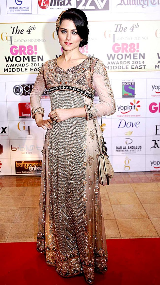 Ridhi Dogra at the 4th GR8! Women Awards 2014. #Style #Bollywood #Fashion #Beauty #Page3