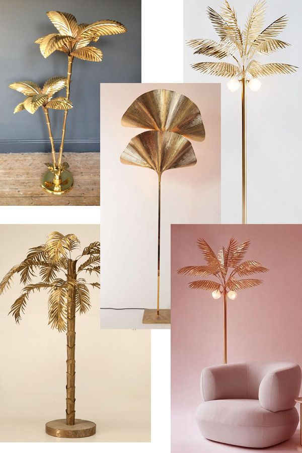 Interior deco on my mind for the livingroom http://gabriellalundgren.com/interior-deco-on-my-mind-for-the-livingroom Check out my post where I list three things I want to deco my living room with. It's all about brass palm lamps, colorful sofas and wall long book shelfs.