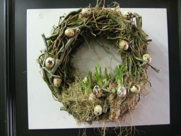 pasen   mooie, stoere voorjaarskrans Door rbosgraaf