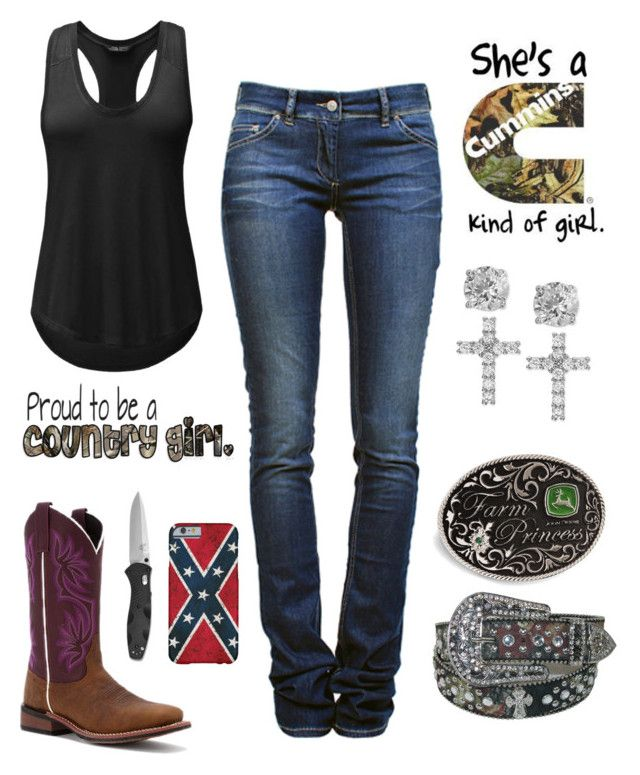 """""""I Wish It Was 80 Degrees And Sunny :("""" by im-a-jeans-and-boots-kinda-girl on Polyvore featuring The North Face, Étoile Isabel Marant, Laredo, John Deere and Giani Bernini"""