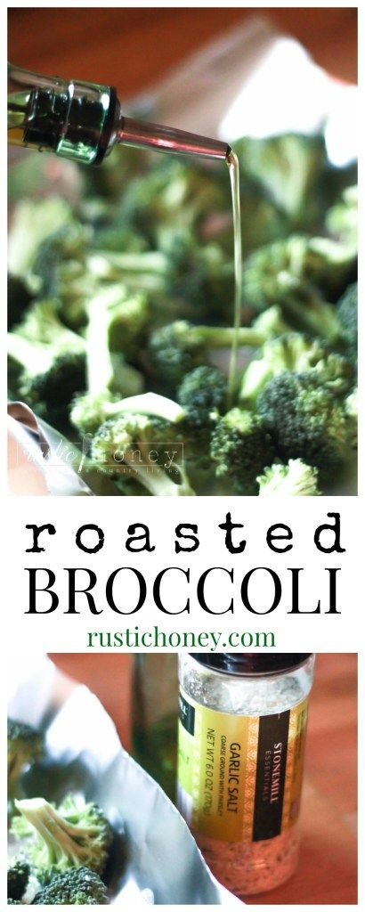 healthy roasted broccoli