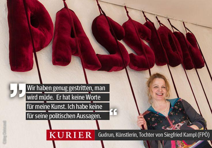 Gudrun, die Frau, die ihren Nachnamen abgelegt hat, im Interview. Am Samstag im KURIER und auf http://kurier.at/chronik