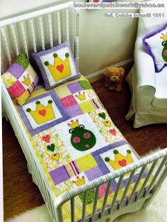1000 ideas sobre colchas infantiles en pinterest - Colchas patchwork infantiles ...