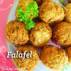 Receita vegetariana: Falafel