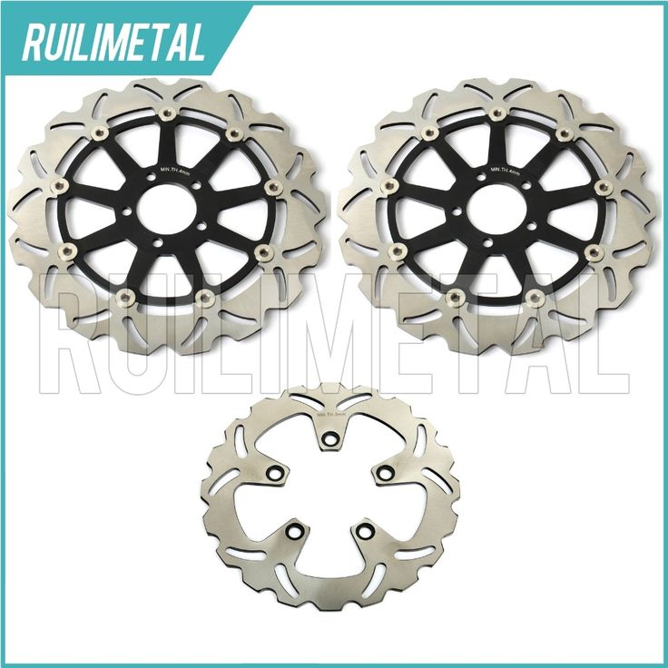 233.96$  Watch here - Front Rear Brake Discs Rotors for Kawasaki ZX7R NINJA P1 P2 ZX7RR N1 96 97 98 99 00 01 02 03 ZX9R 1994-1997 ZXR 750 91 92 ZX750J  #buychinaproducts