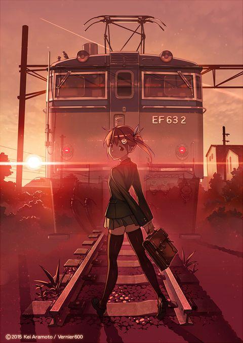#anime #illustration「その先にある夢。」/「バーニア600」のイラスト [pixiv]