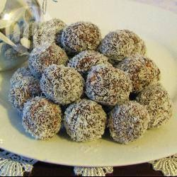 Chocolate Coconut Balls @ allrecipes.com.au