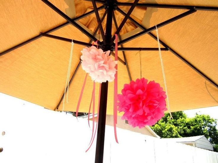 love itShower Ideas, Pretty In Pink, Donna Bridal, Pom Pom, Parties Decor, Bridal Showers, Pink Bridal