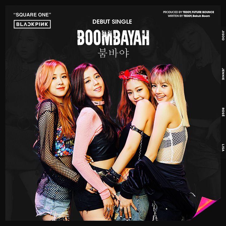 Blackpink Nghe Tải Album Blackpink: BOOMBAYAH Album Cover By Minayeon1999
