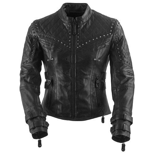 Black Brand Brazilian Waxed Women's Jacket - @RevZilla