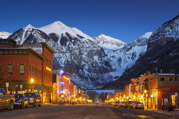 Main Street, Telluride, Colorado.