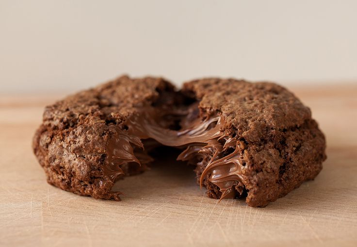 Nutella chocolate cookie.