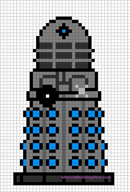 Dalek Minecraft template