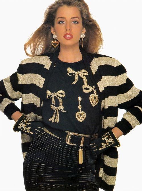 Escada 1989  Model: Julie Anderson