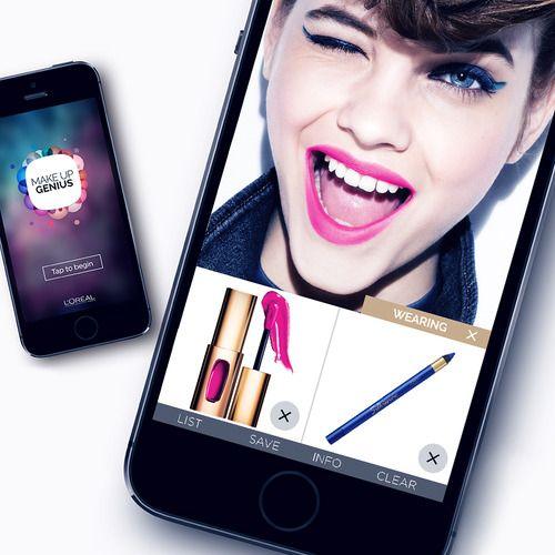 Makeup Genius App- niesamowita aplikacja na iOS. Więcej na: . http://www.beautyadvisor.eu/2014/12/nowa-aplikacja-loreal-makeup-genius-app.html