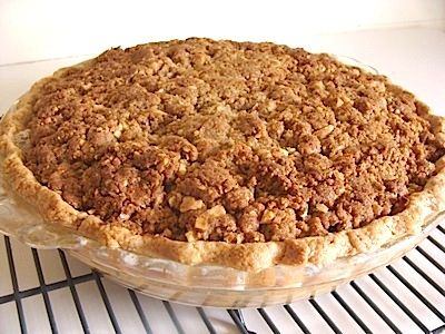This easy, Crumb-Topped Apple Pie is one of the best apple pies I have ever eaten. The fact that it can be made ahead, frozen unbaked for up to three month