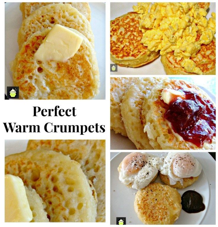 how to eat scottish crumpets