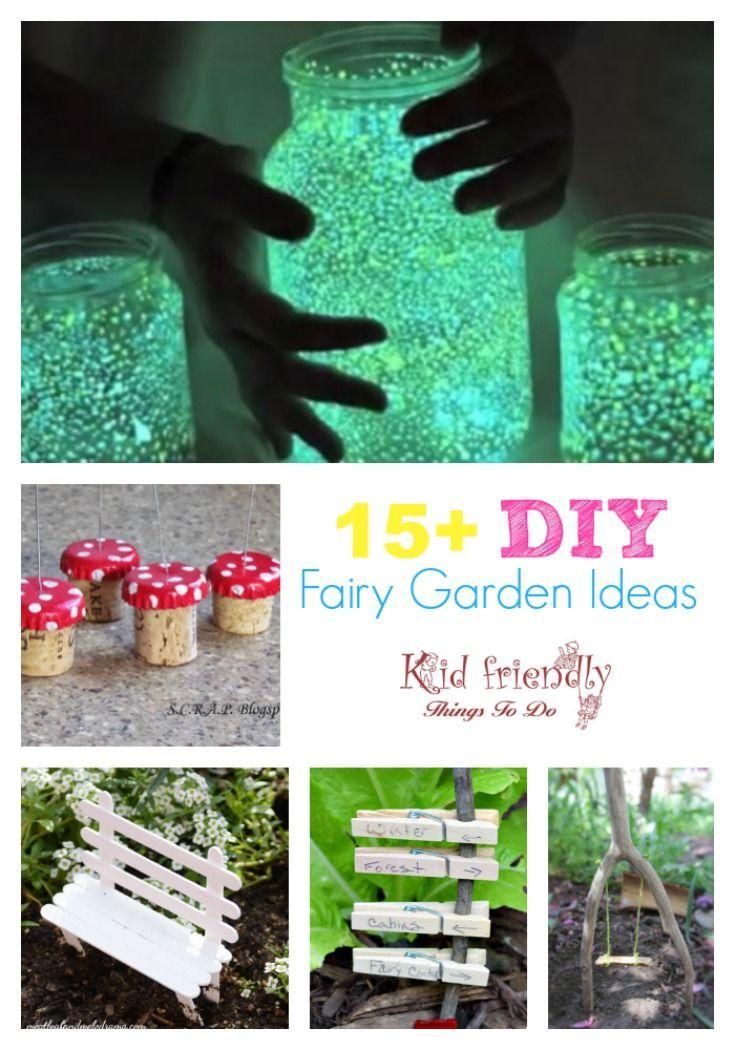 Over 15 Fairy Garden Ideas for Kids in the Garden Your Best DIY