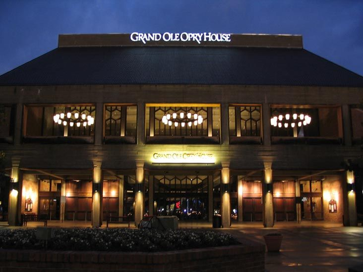 Grand Ole Opry House in Nashville, TN coming back from National FFA Convention - October 2001