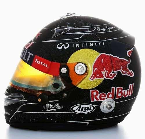 Sebastian Vettel's Singapore Helmet