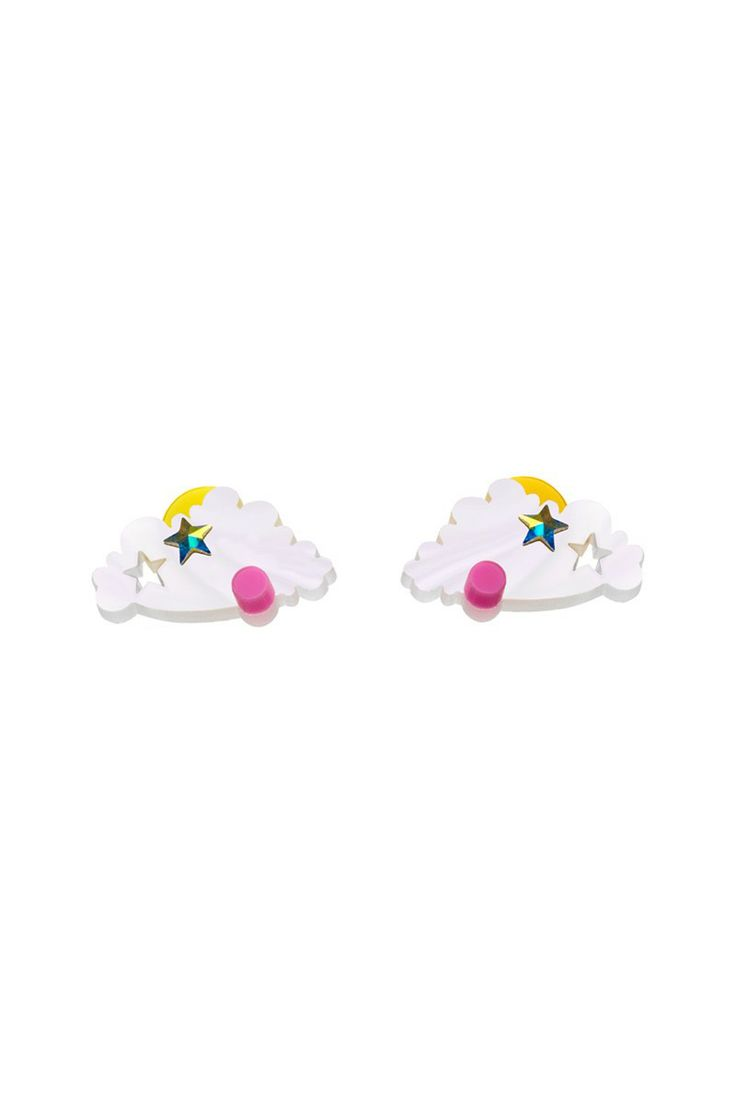 Head In The Clouds Earrings, £45: http://www.tattydevine.com/shop/by-product/collections/aw13/head-in-the-clouds-brooch.html