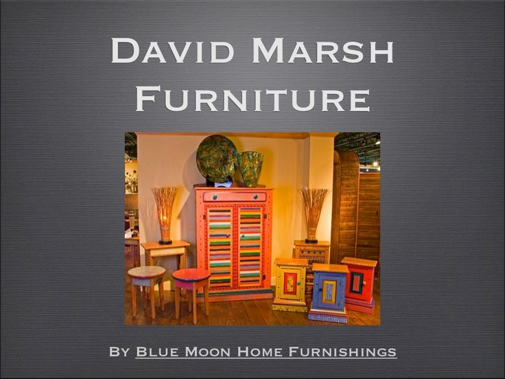 David Marsh Furniture We Love These Works Of Functional