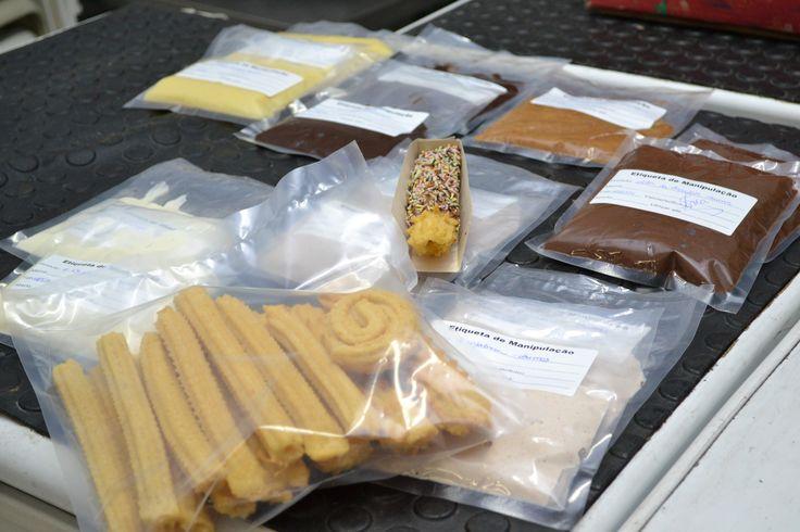 recheios e coberturas doces e salgadas ensinadas em nosso curso pratico de churros