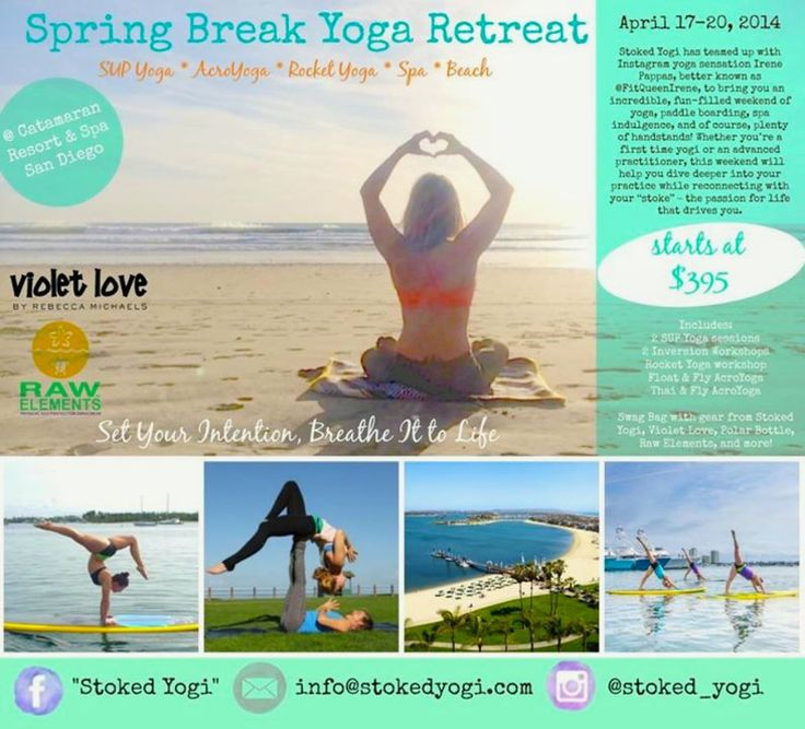 175 best san diego ca local events images on pinterest for Yoga retreat san diego