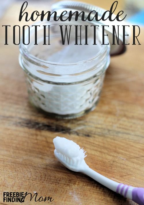 Homemade tooth whitener is effective, inexpensive, easy to make, and easy to use. Combine just four ingredients and within a few minutes you'll have a powerful tooth whitener that will help brighten your pearly whites. Must try this!!