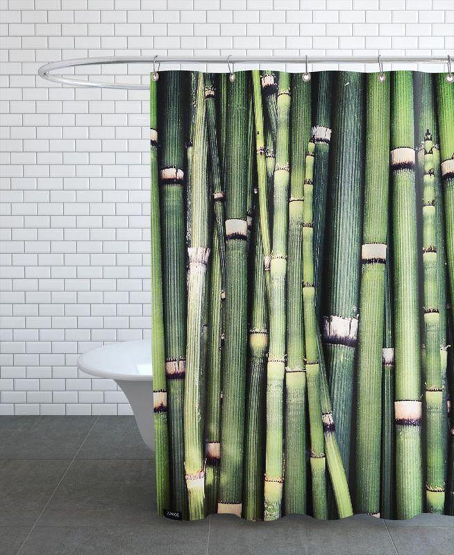 Jungle en Rideau de douche par Ballack Art House | JUNIQE