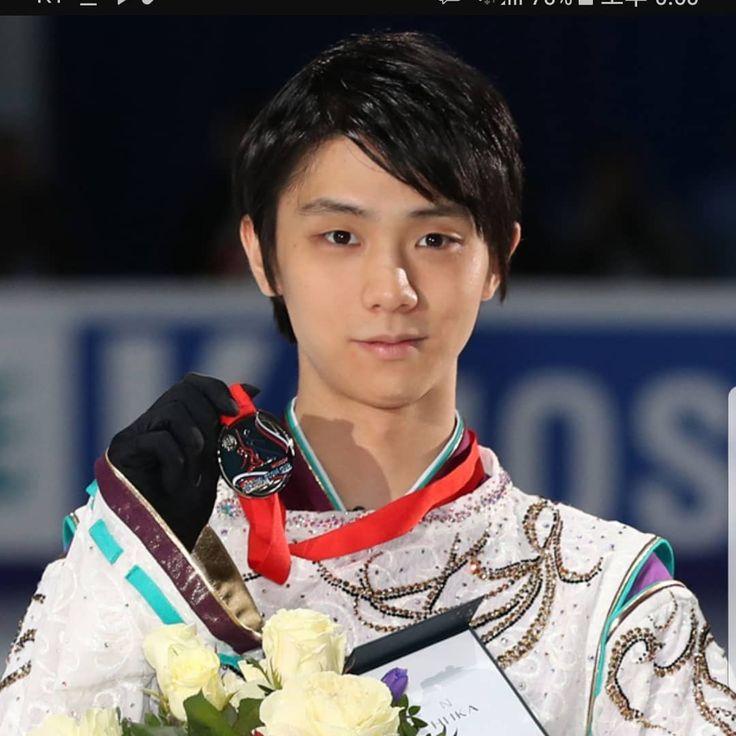 羽生選手おめでとう!! . . . (写真はお借りしました) #평창 #평창올림픽 #피겨스케이팅 #オリンピック #平昌オリンピック #フィギュアスケート #羽生結弦 #宇野昌磨 #金メダル #銀メダル #おめでとう #pyeongchang2018 #figureskating #hanyuyuzuru #goldmedal #congratulations