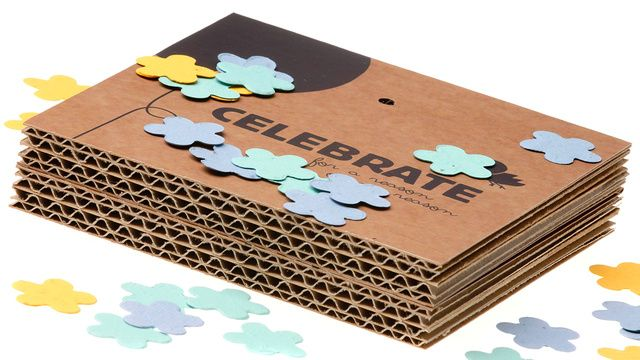 """""""Throw and Grow"""" confetti    Ecological solution to confetti at weddings. Made of a biodegradable paper-like material shaped like little blossoms, the confetti is filled with seeds that will eventually sprout into a patch of wildflowers."""
