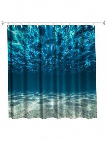 Beach Scene Shower Curtain By Dacswifey With Images Shower