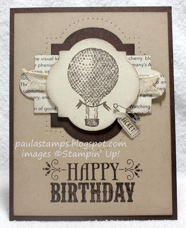 You're Amazing stamp set; GREAT layering of Framelits -Window Frame, Apothecary Accents; Ticket Duo Builder Punch; VIntage Trinkets