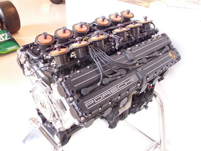 Arrows Footwork-Porsche F1 engine (FA12) 1990