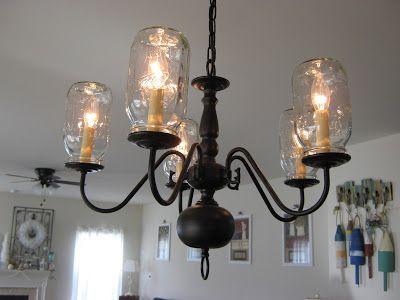 48 best images about diy chandelier ideas on pinterest. Black Bedroom Furniture Sets. Home Design Ideas