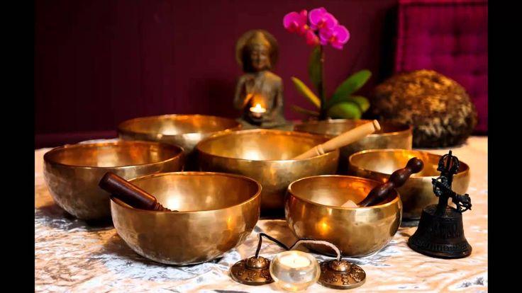 1 Hour Tibetan Singing Bowl Meditation Chakra Healing | Tone C# | Earth ...