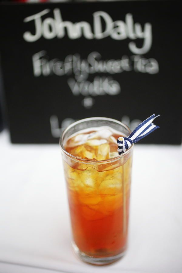 perfect southern signature cocktail. firefly sweet tea vodka.