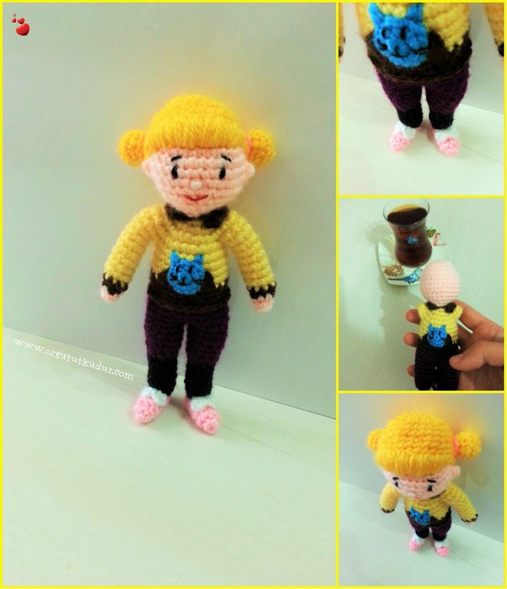 Rafadan tayfa hale amigurumi örgü oyuncak knitting https://www.instagram.com/amigurumiorgu.oyuncakevi/