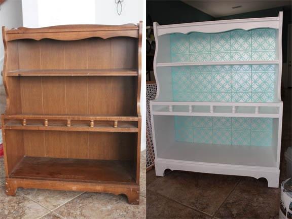 upcycled bookshelf ffor the home pinterest