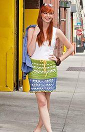 Ravelry: Miami Beach Skirt pattern by Erika and Monika Simmons.. Free pattern!