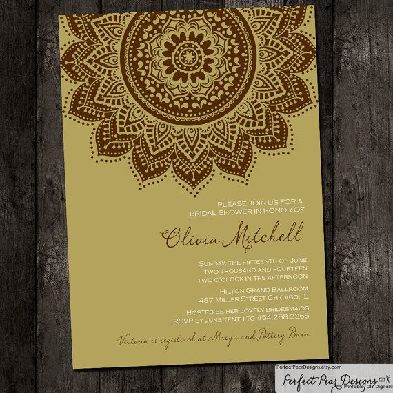 Bridal Shower Invitation Inspired By PerfectPearDesigns On Etsy 1575