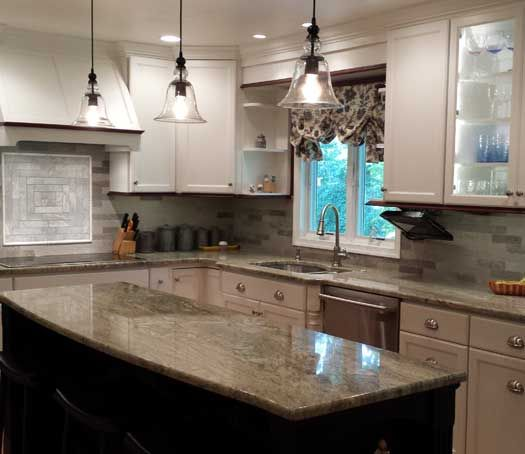 Designed By Kristin B. Filosa With HD Kitchens U0026 Baths In Lansdale, PA. Fieldstone  Cabinetry Stratford Door Style In Maple Finished In ...