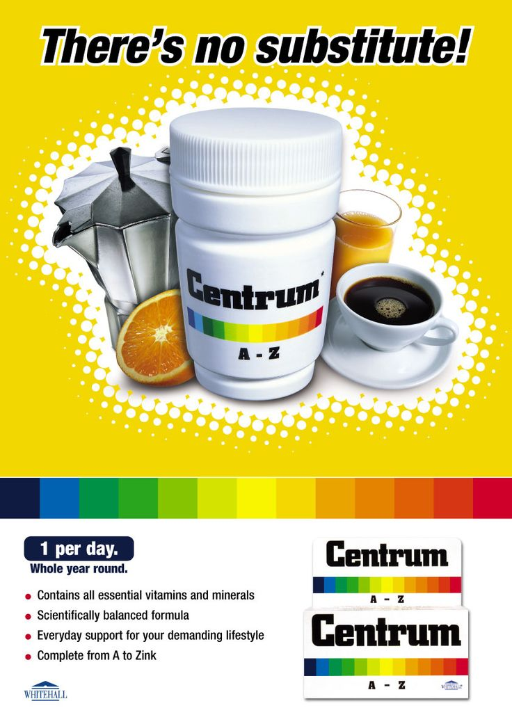 Part of multinational campaign for Centrum Multivitamins, Wyeth Pharmaceutical, a client serviced from 2000-2003 while working at Lowe GGK
