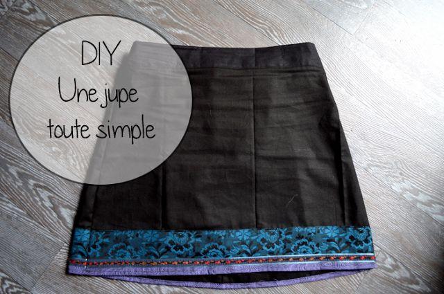 DIY - La jupe toute simple! | Blog Rennes - le heaume de la mort - DIY création