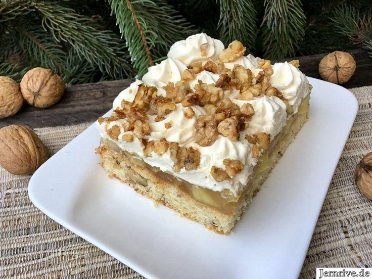 Apfelkuchen mit Walnüssen und Baileys – Aus meinem Kuchen und Tortenblog – Bäckereien