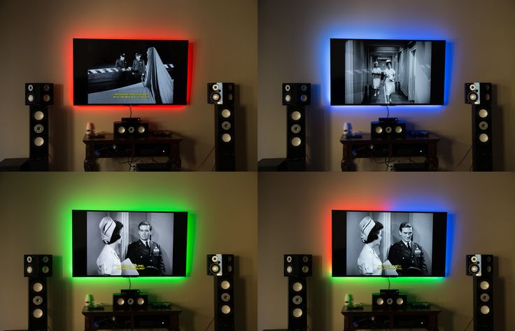 Phillips Hue Behind TV? - AVS | Home Theater Discussions And Reviews