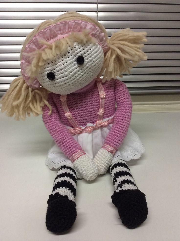 Crochet doll /ESdesign